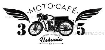 Logo Moto Café